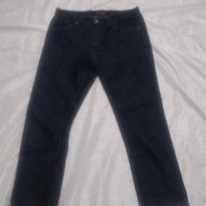 Ouilted Giraffe Slim Straight jeans size 34x30